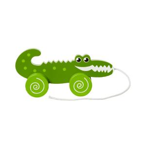 Žival na kolesih krokodil