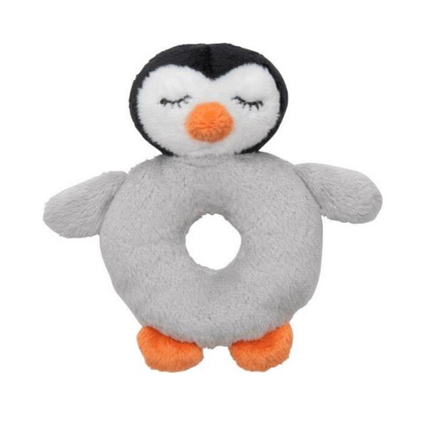 Plišasta ropotuljica pingvin