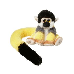Opica z dolgim repom sajmiri rumen
