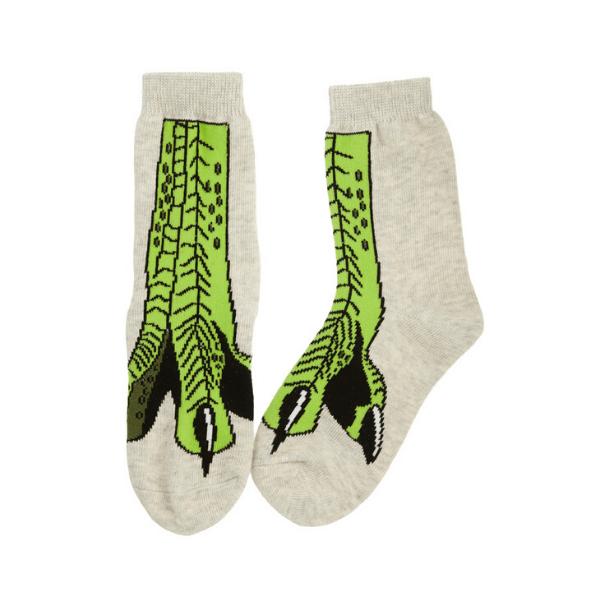 Nogavice T-Rex (zelen)