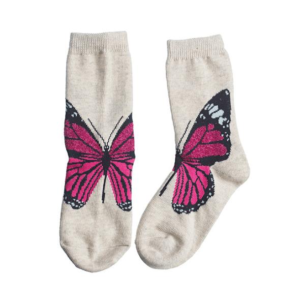 Nogavice metulj (roza)