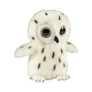 Glitter očki snežna sova