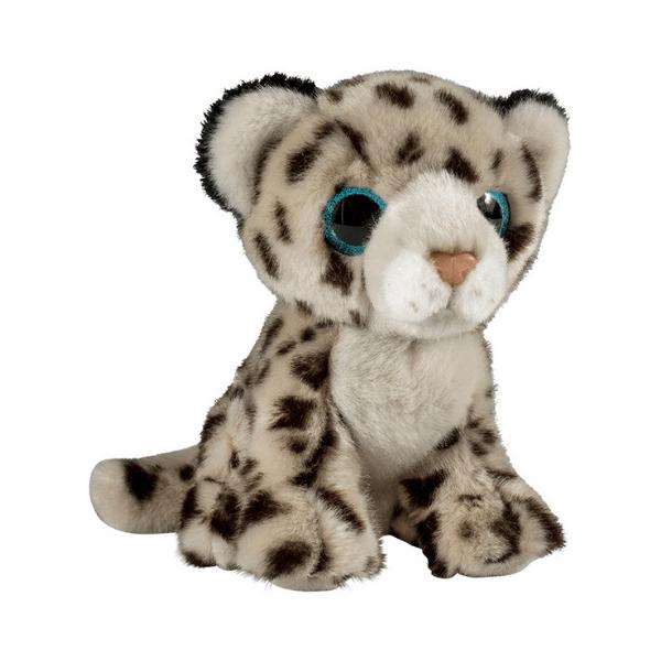 Glitter očki snežni leopard
