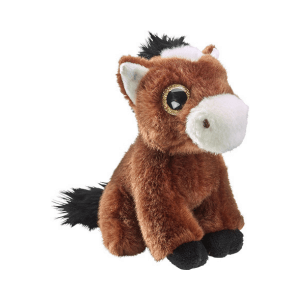 Glitter očki konj